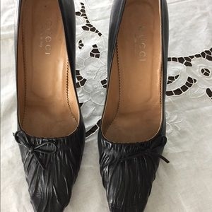 Beautiful black leather Gucci Women's Shoes
